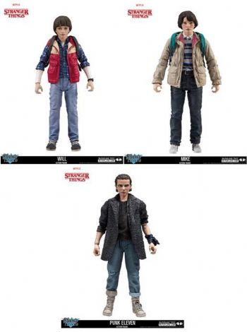 STRANGER THINGS SERIES 3 7IN ACTION FIGURE SET